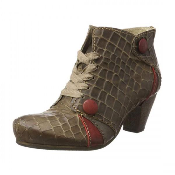 Rovers Damen Schuhe Leder Stiefelette Edelbotte Stiefel