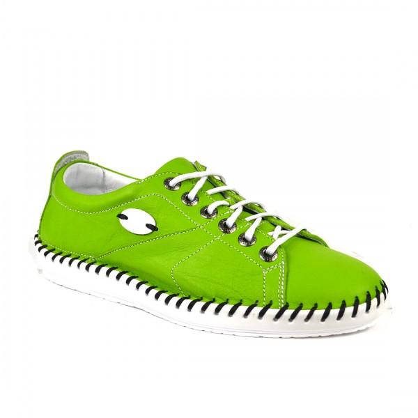 Krisbut Schnürschuh Damen Leder Halbschuh Sneakers