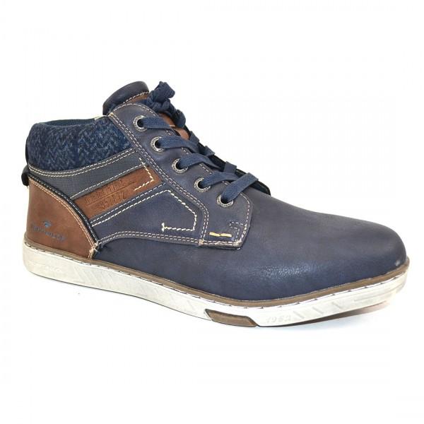 Tom Tailor Herren Schuhe 3782104 Sneaker Schuh Boots Sneakers Blau