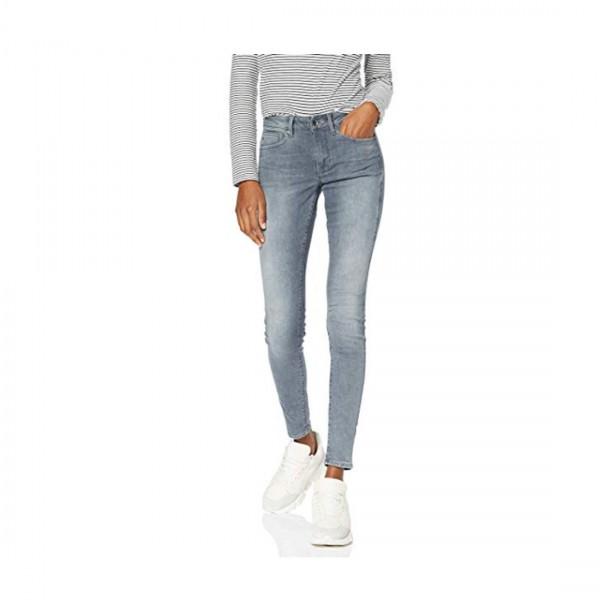 G-Star Damen Hose Midge Zip Mid Waist Skinny Color Jeans