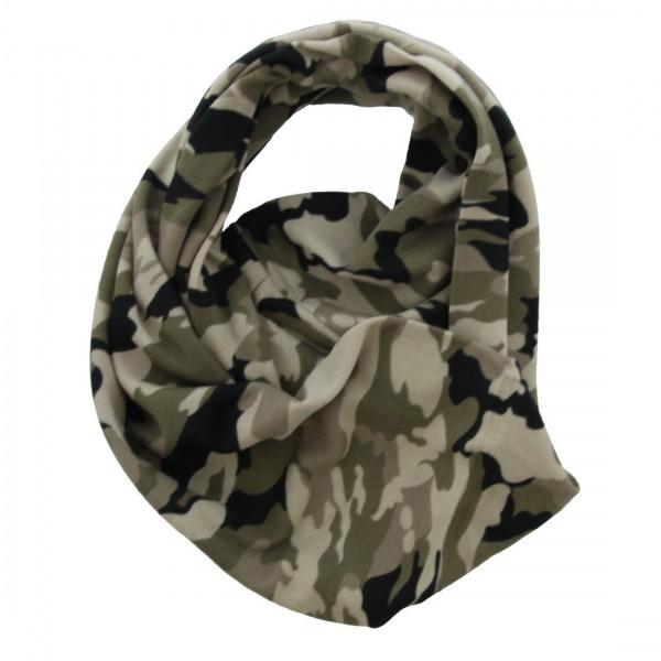 Stylischer Damen Camouflage Fleckentarn Schal Tuch Loop Camou Army