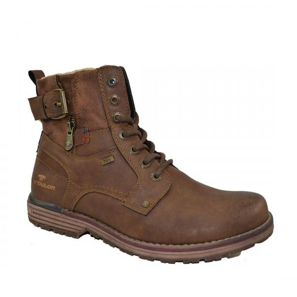 Tom Tailor Herren Stiefel Schuhe 3780806 Schnürschuhe Schuh Boots Braun