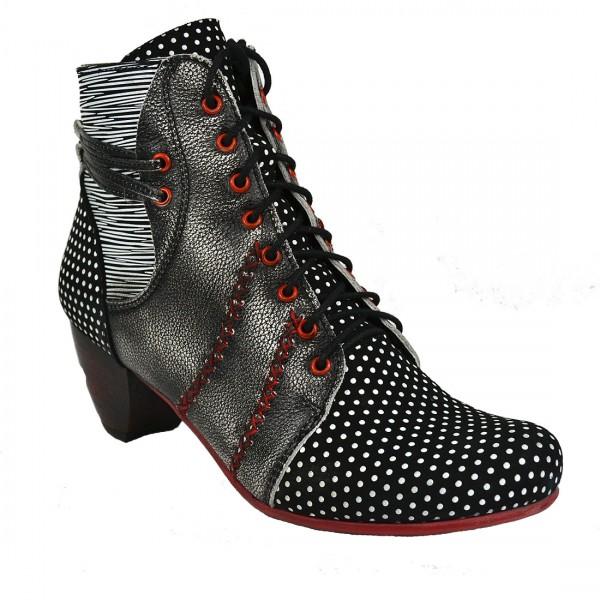 Simen Damen Leder Ankle Boots Sandaletten Schuh Schaft Pumps