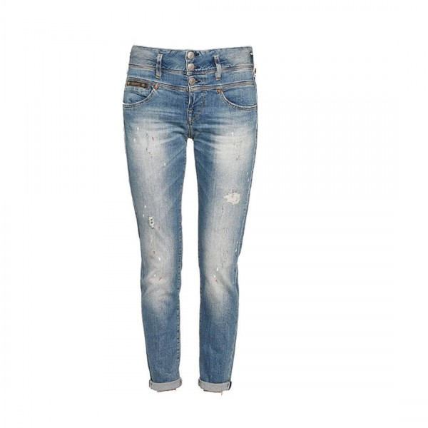 Herrlicher Damen RAYA Boyfriend Jeans 5 Pocket Jeanshose 5305