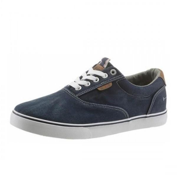 H.I.S Herren Schuhe Sneaker Freizeitschuh Schnürschuhe Blau