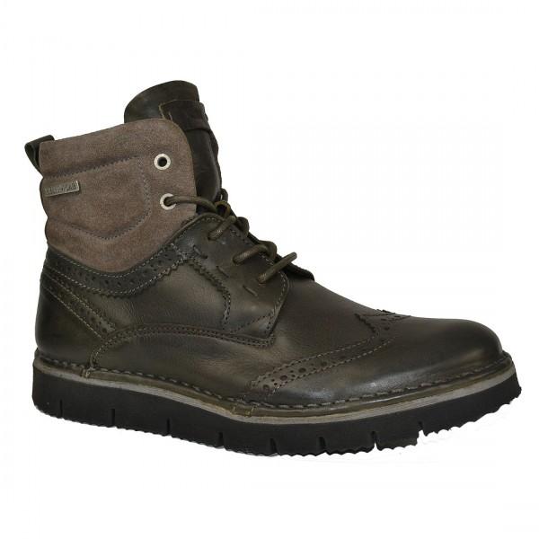 Yellow Cab Herren Creak M Y18072 Taupe Leder Schuhe Boots