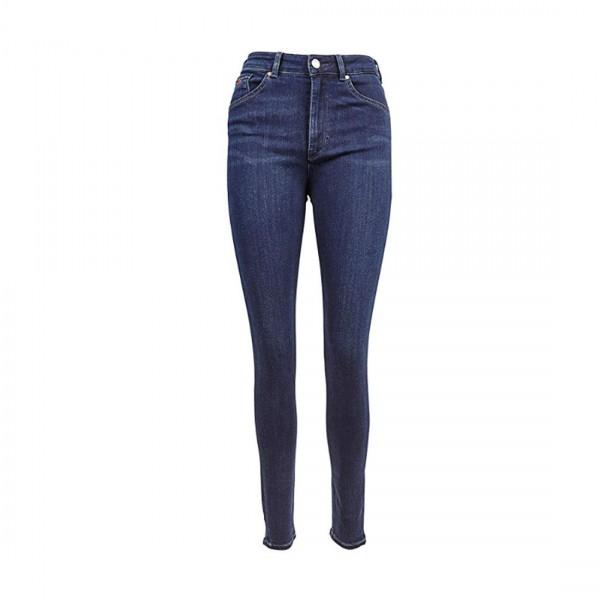 Scotch & Soda Damen Jeans Maison High Rise Skinny blau