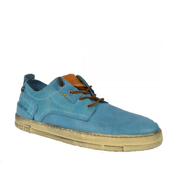 Yellow Cab SEAL M Sneakers Y12244 Leder Sneaker Herren Schnürschuh Blue