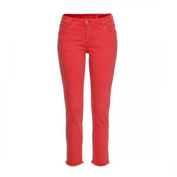 S.OLIVER RED LABEL Damen Ankle Jeans Hose Rot