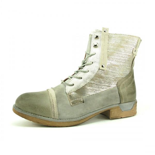 Kayla Damen Boots Stiefel Stiefelette Schnürschuhe Schuhe