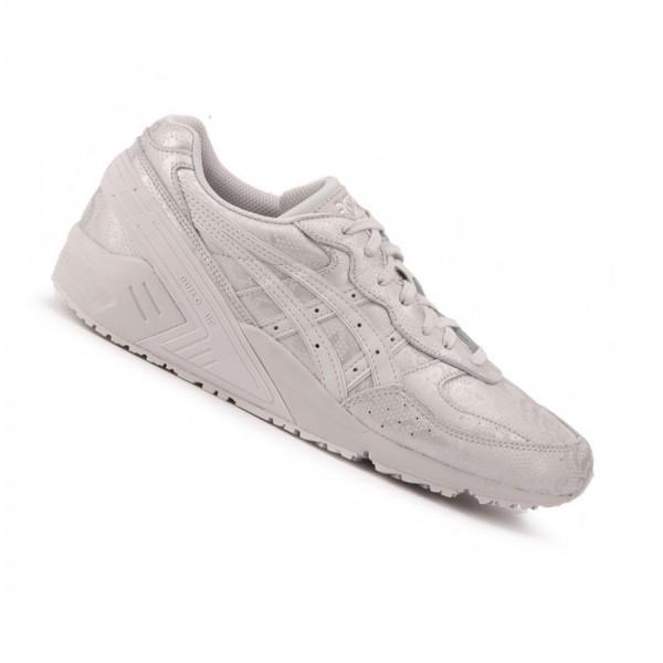 Asics Damen Gel Sight Sneaker Schuhe Schnürschuhe Silber