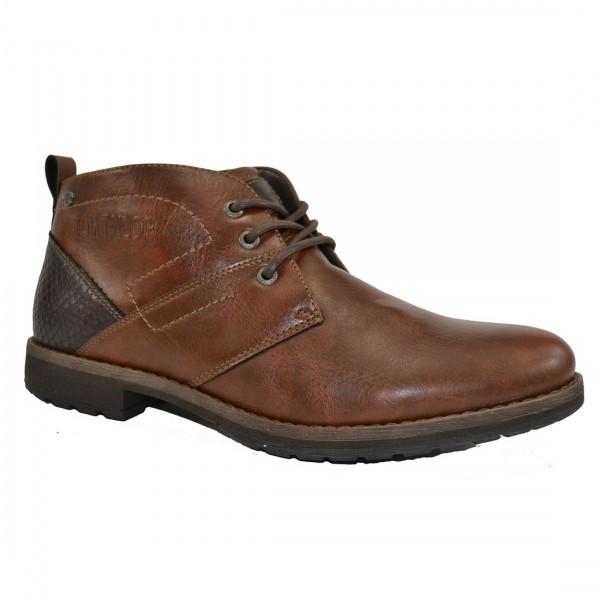 Tom Tailor Herren Schuhe 3781601 Sneaker Halbschuh Schuh Boots Sneakers Braun