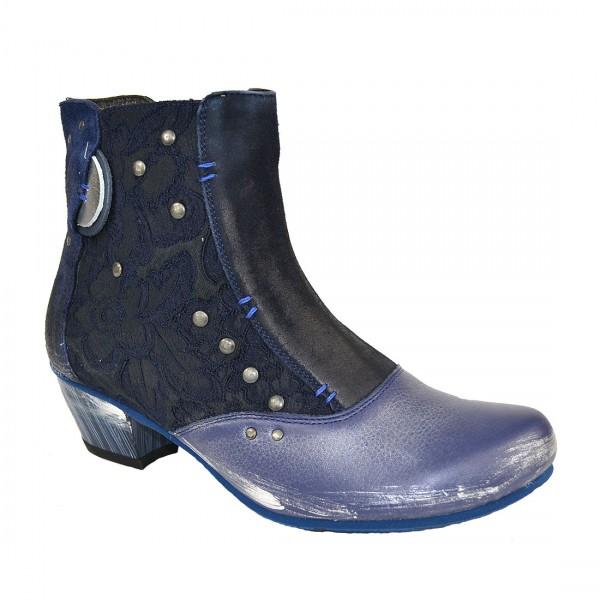 MACIEJKA Damen Leder Stiefelette Ankle Stiefel Chelsea Schuh