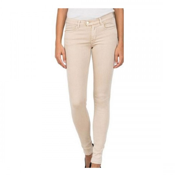 Replay Damen Jeans Touch Color Sandton Hose Röhrenjeans