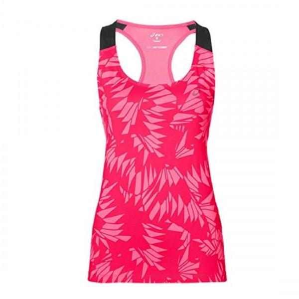 Asics Damen Top Shirt Running Lauftop Rosa Pink Fitted GPX