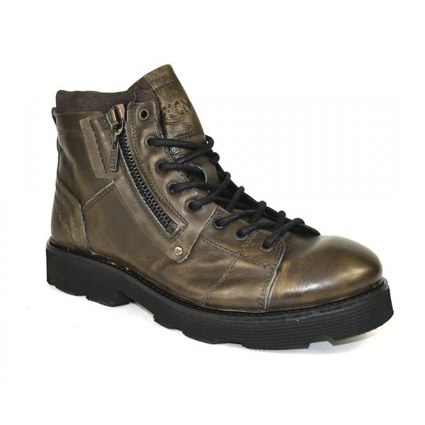 Yellow Cab Herren PISTON M Y15390 Leder Stiefel Boots Schuh Antracite