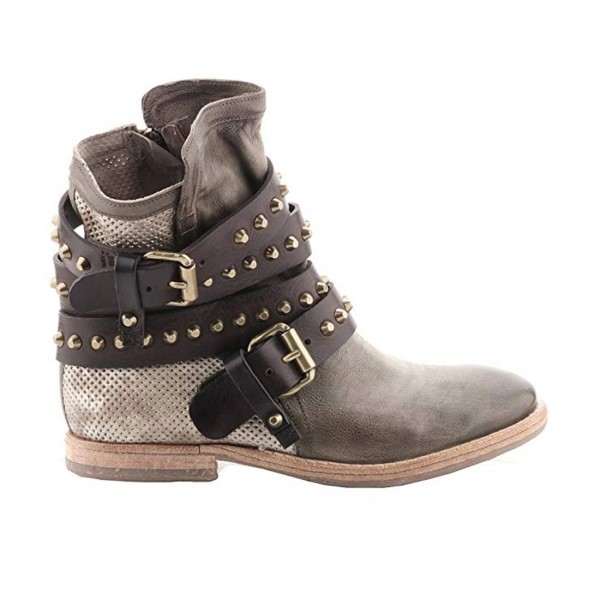 A.S.98 Airstep Stiefeletten Leder Damen Stiefel Boots