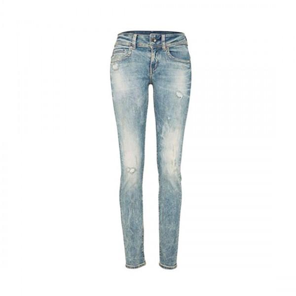 G-STAR RAW Damen Jeans Hose Midge Saddle