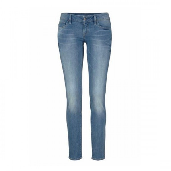 G-Star Raw Damen Hose Jeanshose 3301 deconst low skinny