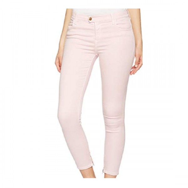 Replay Damen Jeans Skinny Rosa Touch Cropped Hose Röhrenjeans