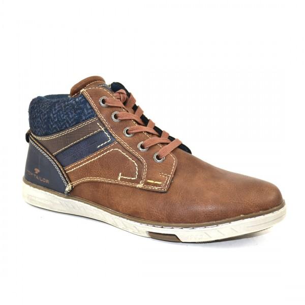 Tom Tailor Herren Schuhe 3782104 Sneaker Schuh Boots Sneakers Braun