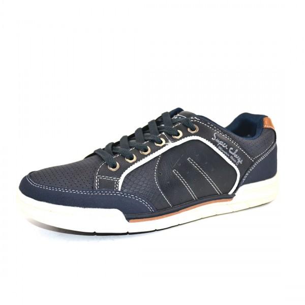 H.I.S Herren Schuhe Sneaker Schnürschuhe Blau Sportlicher Schuh