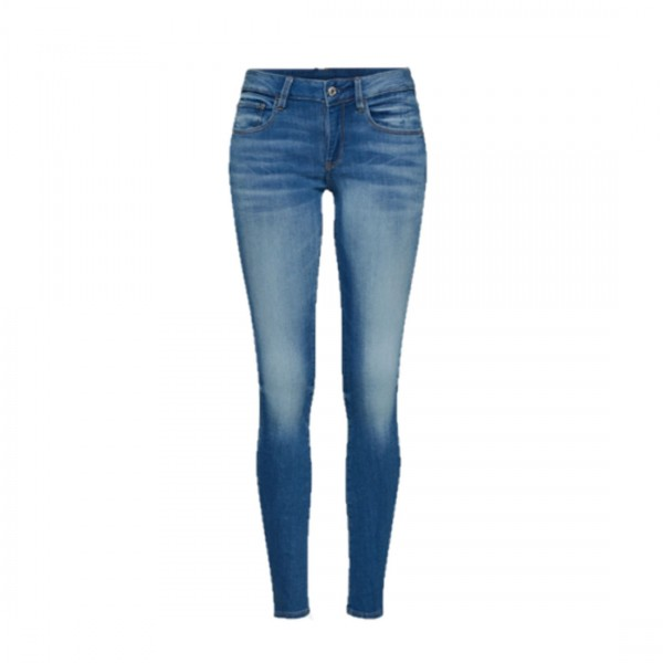 G-STAR RAW Damen 3301 Ultra High Skinny Jeans blau