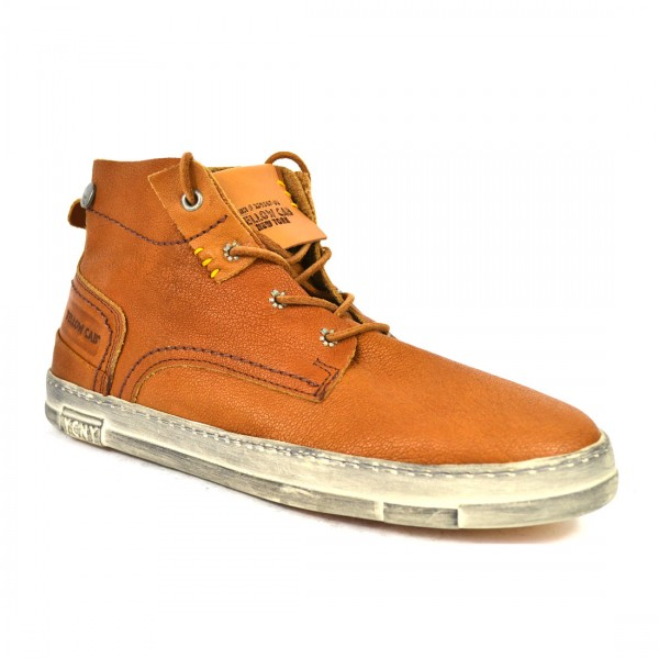Yellow Cab SEAL M Sneakers Y15415 Leder Sneaker TAN Herren Halbschuh