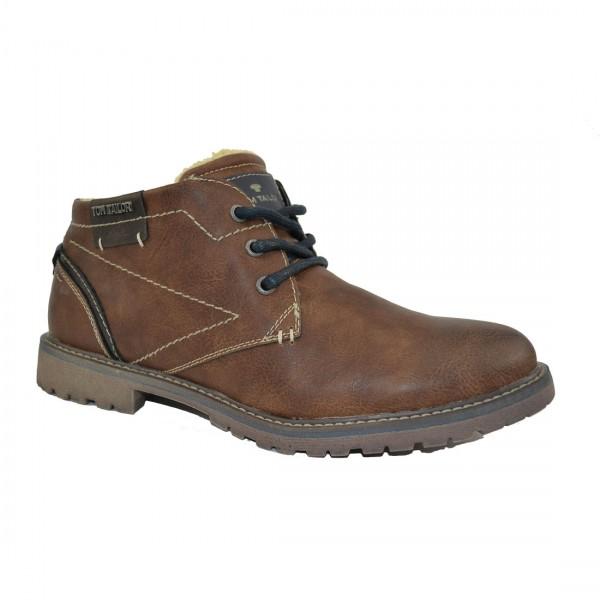 Tom Tailor Herren Schuhe 3780303 Sneaker Halbschuh Schuh Boots Sneakers Braun