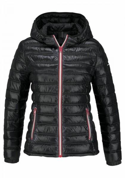 Replay Damen Steppjacke Jacke schwarz leichte Steppjacke